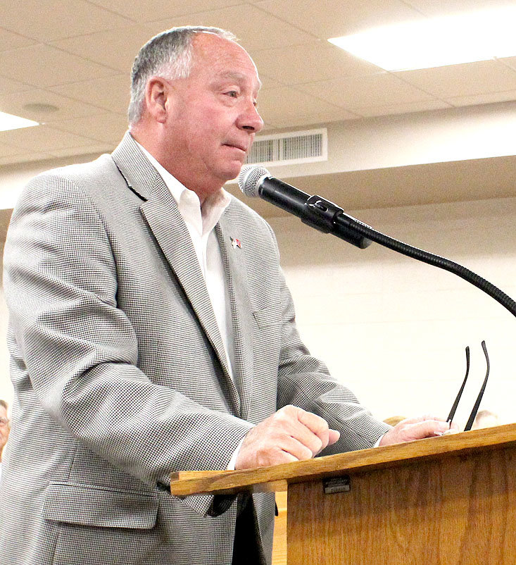BRADLEY COUNTY Trustee Mike Smith presented his annual report to the Bradley County Commission on Monday.