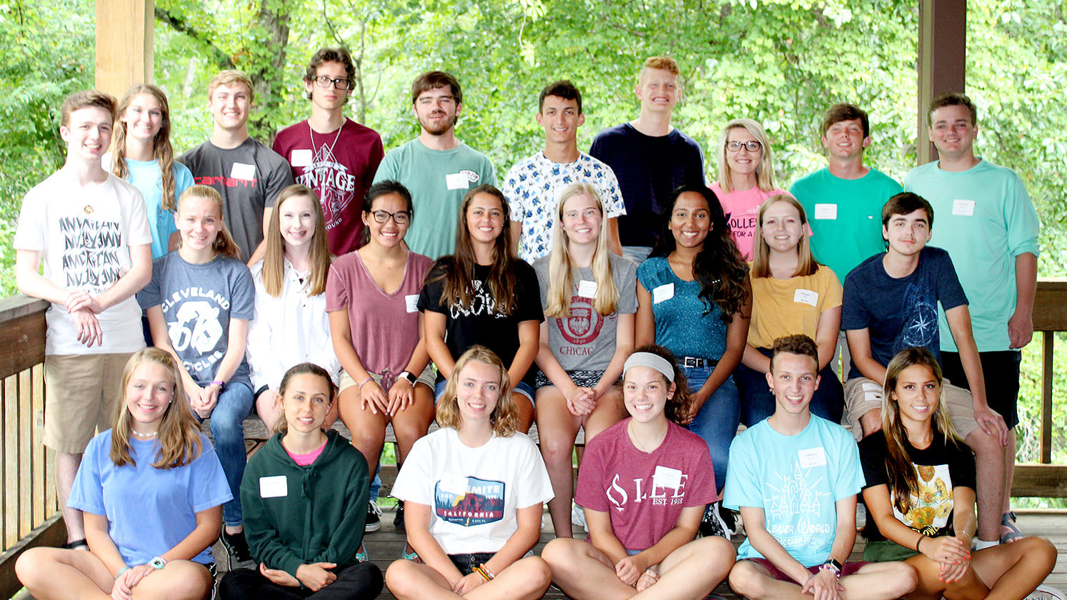 TWENTY-FOUR exceptional young people from Bradley Central, Cleveland and Walker Valley High Schools and Tennessee Christian Preparatory School recently participated in a daylong retreat to begin their Youth Leadership Class of 2019-20 experience. Youth Leadership is a workforce development initiative of the Cleveland/Bradley Chamber of Commerce.