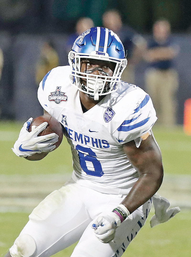 MEMPHIS running back Patrick Taylor's presence has Memphis confident it can improve upon last year's 8-6 season even as it replaces Darrell Henderson, the nation's second-leading rusher in 2018.