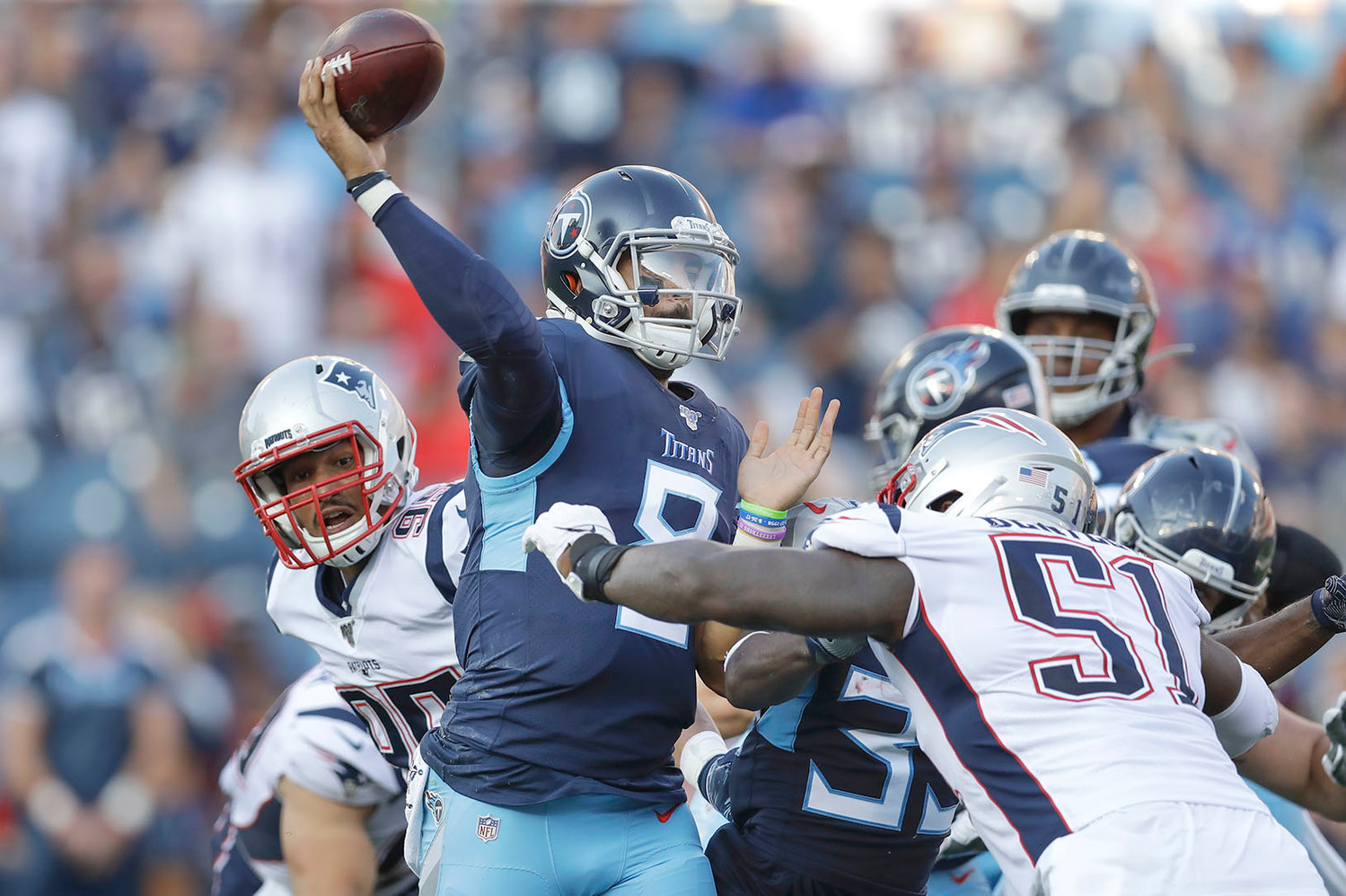 76f3ade1 Time for Titans to work on lessons learned vs. Patriots | The ...