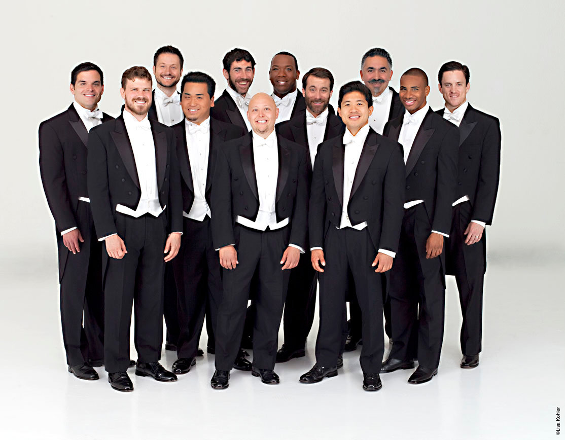 The a cappella group Chanticleer will continue the concert series on Monday, Oct. 28.