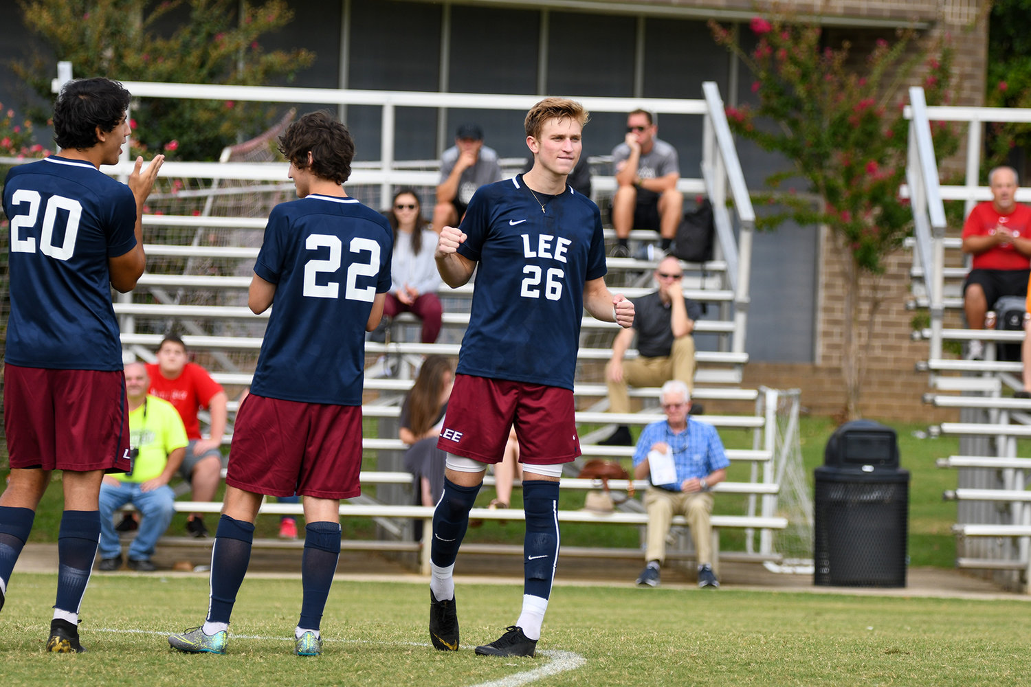 CADEN CORRAO and the Lee University Flames got a much needed road win at CBU, in Memphis, Sunday.