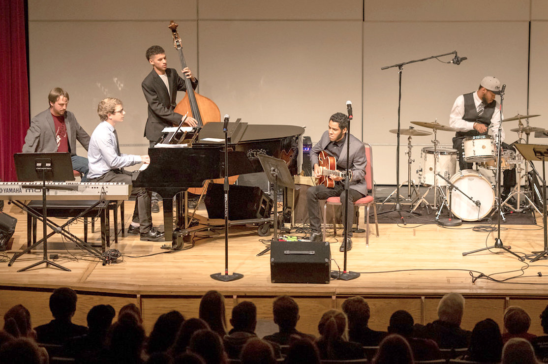Small Jazz 2018 group