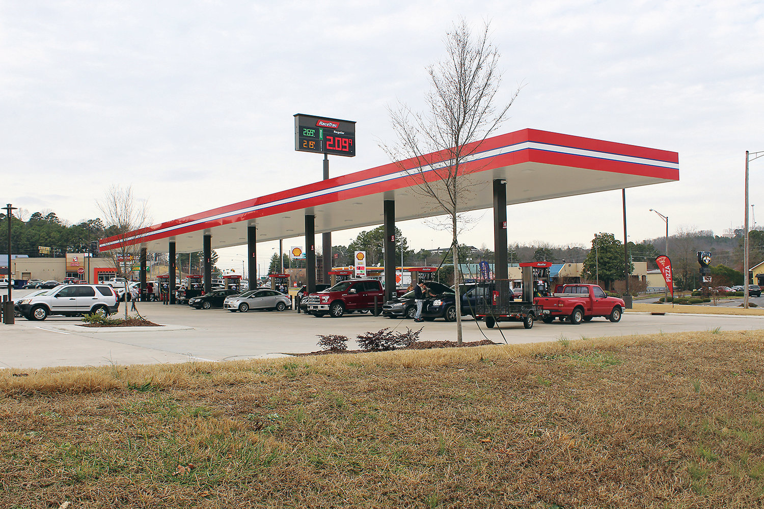 Gas Prices Turn Higher as the New Year Rolls In