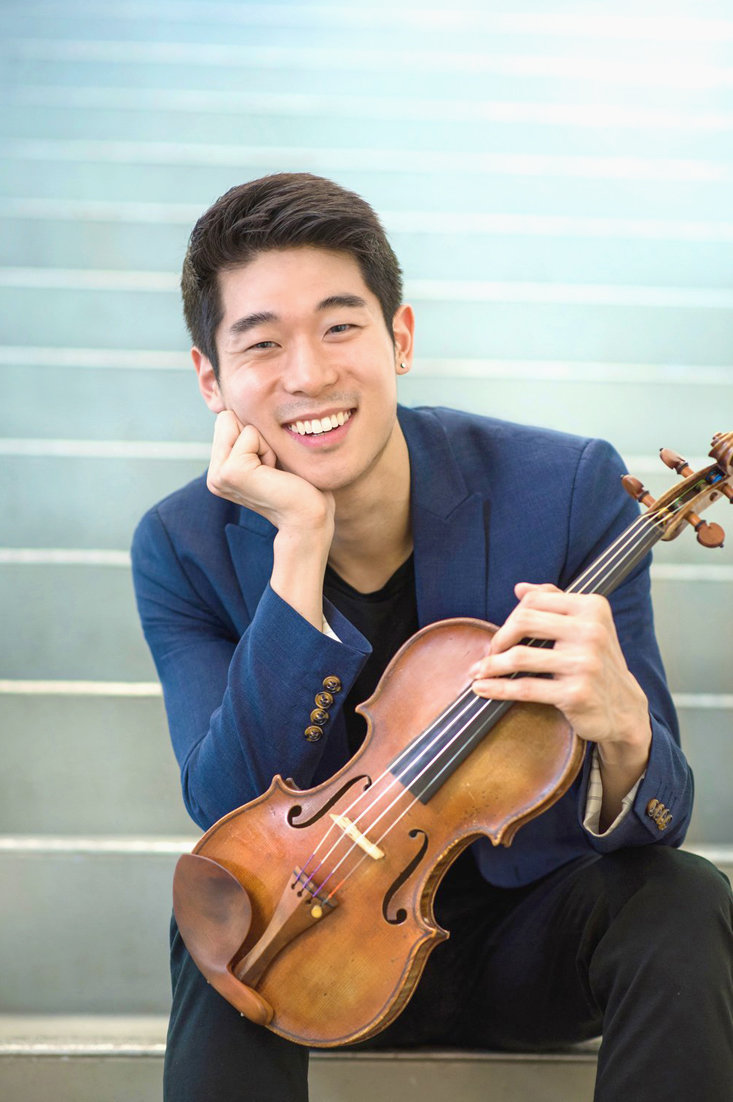 Violinist Danny Koo will be in a week-long residency Jan. 22 through 26 through the String Theory Outreach Initiative.