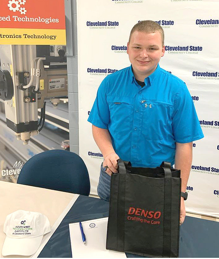 BRADY WATSON, an incoming freshman at Cleveland State, signed with Denso Manufacturing.