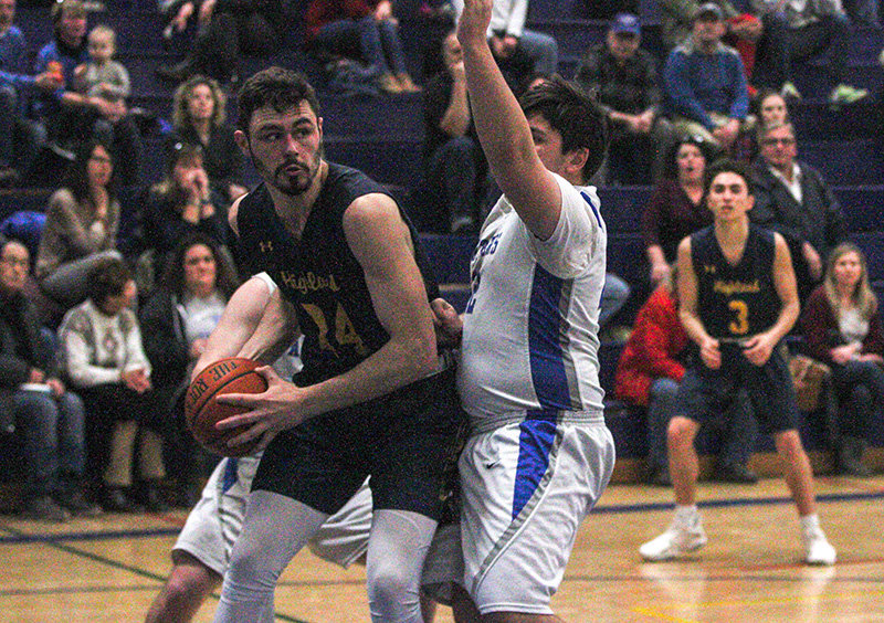 Cameron Ness led Highland with 23 points.
