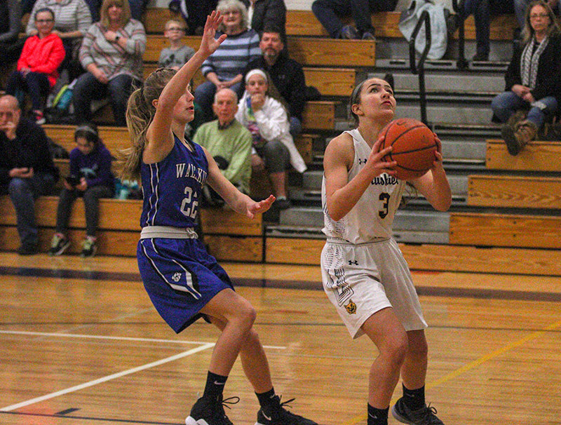 Adrianna Scalo scored 11 points for Highland.