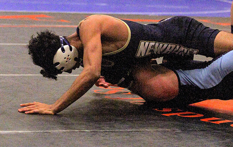 Brandon DeLaRosa reached the 126-pound final and lost 9-4.