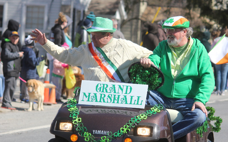 The annual Wallkill Saint Patrick's Parade falls on the exact date this year - Sunday, March 17 at 2 p.m.