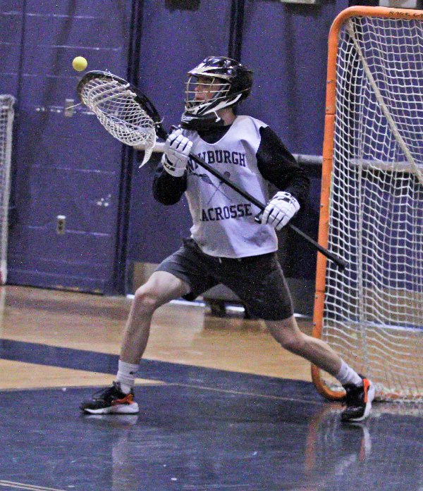 Gabriel Yozzo, a transfer from Red Hook, will play goalie this season.