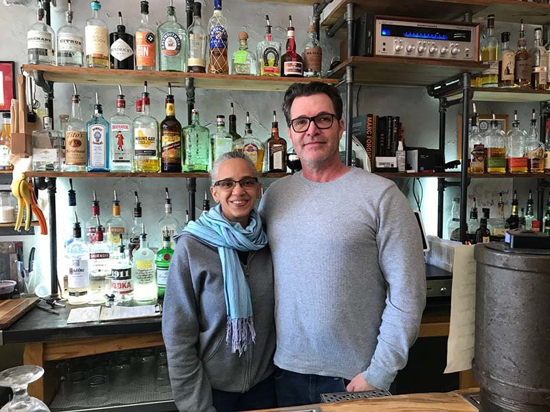 Sindy and Michael Moroney recently reopened Crawford Craft, a laid-back gastropub in Pine Bush.