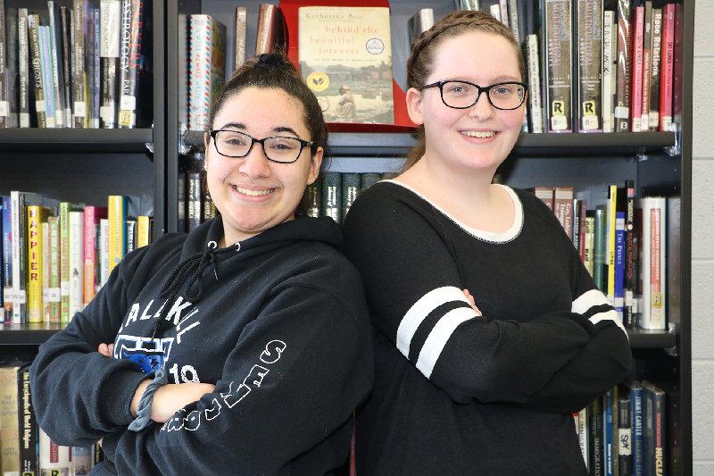 Victoria Soler and Amanda Whitehouse.