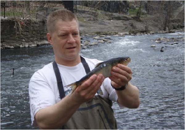 George Jackman tracks the health of the Hudson for Riverkeeper.