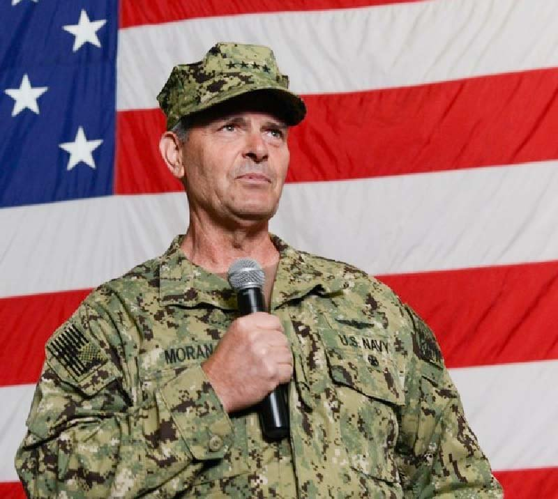 Admiral William F. Moran, Valley Central Class of 1977, has been nominated to serve as Chief of Naval Operations.