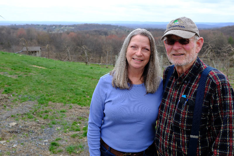 MaryEllen and Doug Glorie have recently decided to sell their beloved farm at 40 Mountain Road in Marlboro.