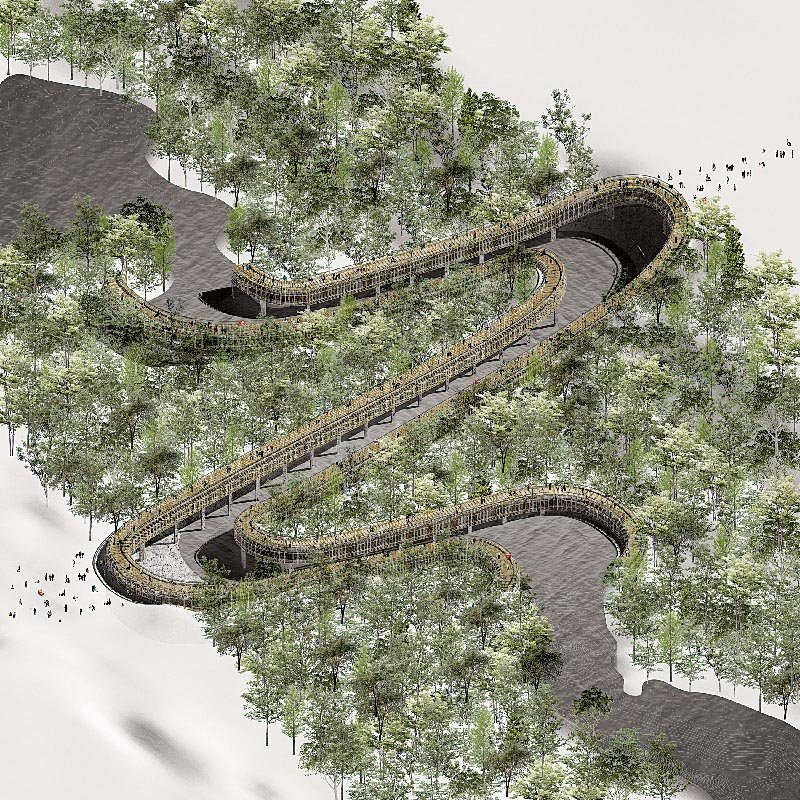 Project design of the Quassaick Creek by Alexandros Prince-Wright, a Columbia University graduate student.