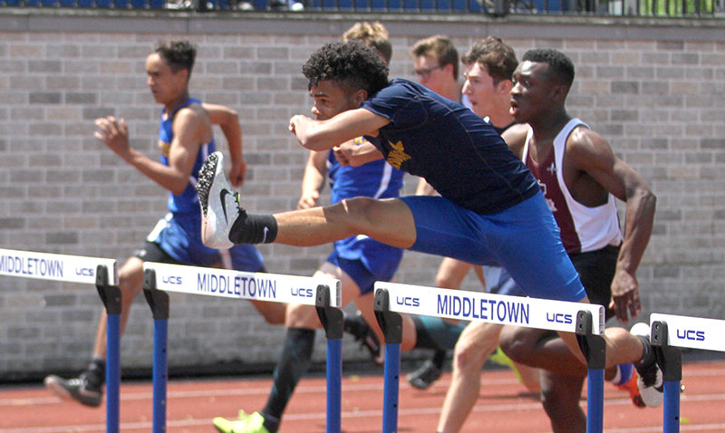 Ryler Gould repeated as the state D-I 400-meter hurdles champion.