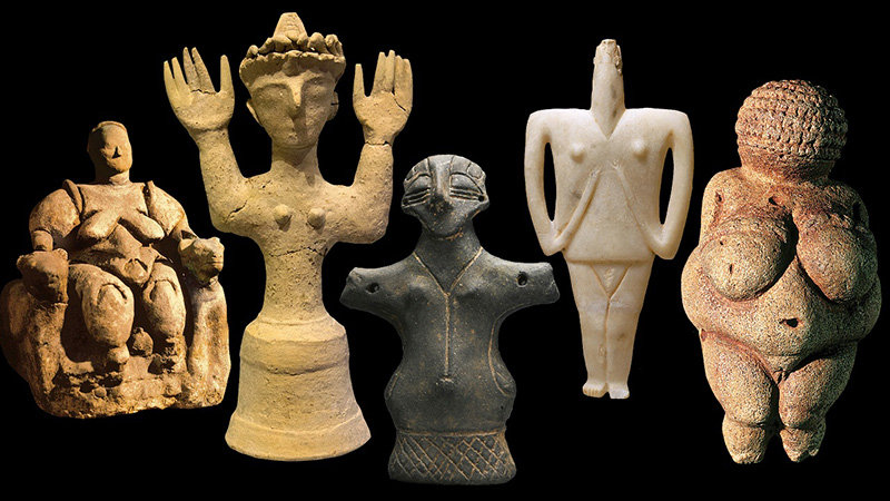Five Goddesses.