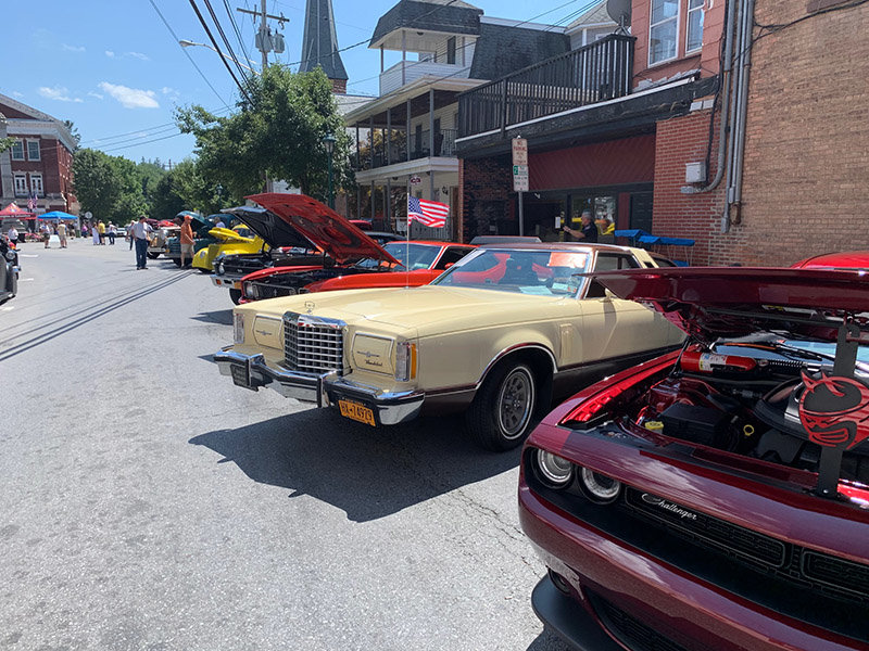 This year was the largest Walden Classic Car Show, with about 75 entries. The annual show is a fundraiser for the Knights of Columbus 9254 in Walden. The organization donates proceeds from the show and other fundraisers to local charities. Photos by Laura Fitzgerald.