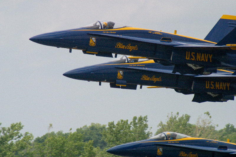 The U.S. Navy Blue Angels return to Stewart this weekend for the New York International Air Show.