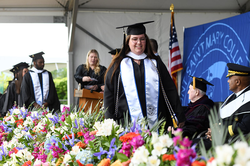 Mount Saint Mary College's 56th Annual Commencement Ceremony on May 18, 2019.