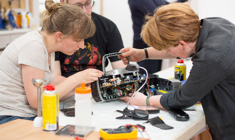 A Repair Café will be held at the Wallkill River School of Art in Montgomery on Sept. 14.