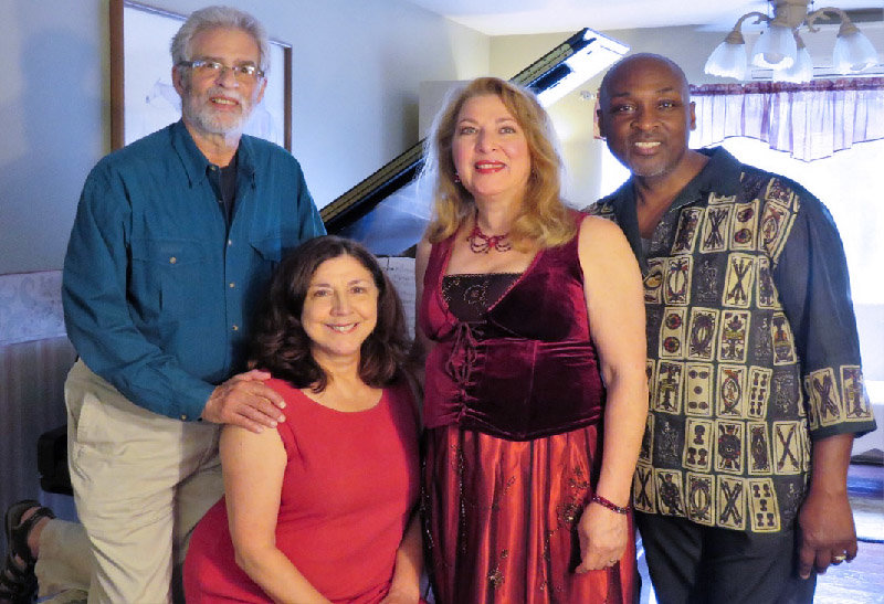 L - r: Steve Margoshes & Ada Janik Margoshes, Pianists / Composers Julie Ziavras, Soprano and Elex Lee Vann, Baritone will pen the 2019-20 season of the Grand Montgomery Chamber Music Series.