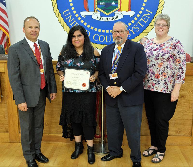 Josette Rosado was named the Marlboro High School Student of the Month for September.