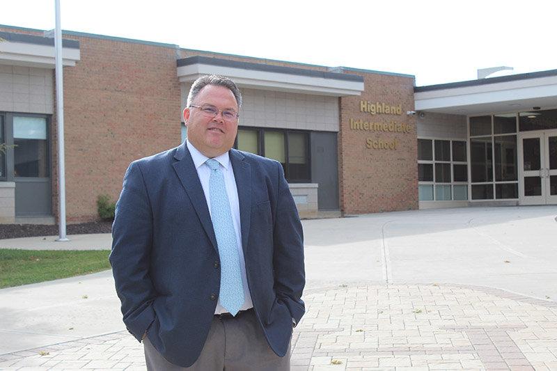 Principal Joel Freer