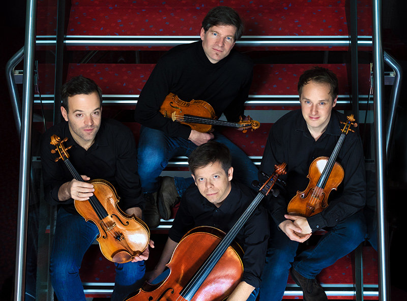 The renowned Munich Philharmonic String Quartet performs Saturday at St. George's Church in Newburgh.