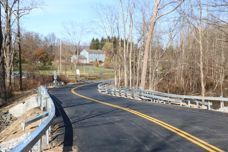 The project budget was approximately $690,000 with design and construction completed by Orange County DPW.