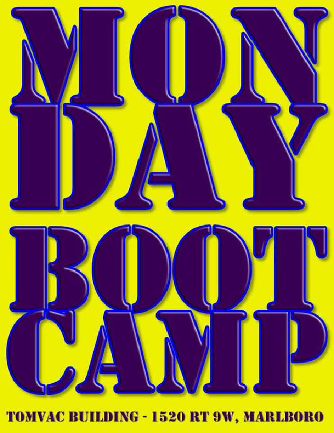Facebook ad for Fitness Boot Camp at the TOMVAC Building.