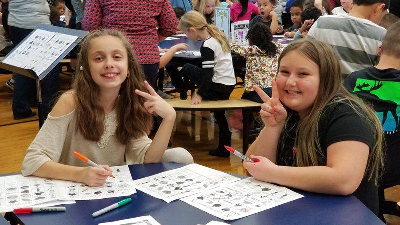 These students had Bingo!