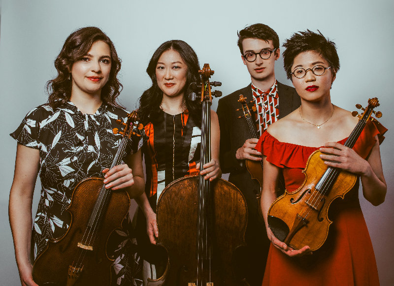 The New York City-based Argus String Quartet performs Sunday in Montgomery.