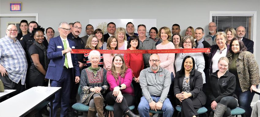 The Tri County Community Partnership held a ribbon-cutting ceremony Monday evening for their new home at 127 Route 302 in Pine Bush.