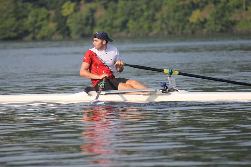 Mack Carr of Pine Bush is headed for Olympic regional rowing competition in July in Sarasota.