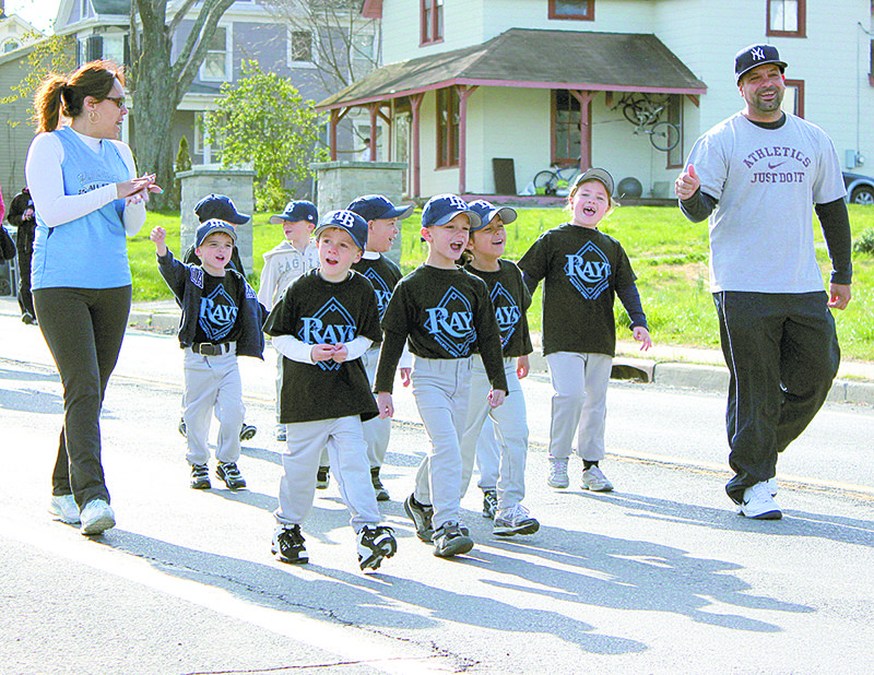 Little League Parade, like this one in Wallkill (2012) are delayed and may not happen at all this year.
