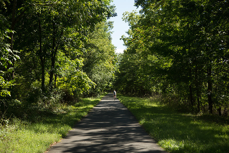 Heritage Trail in Goshen is among the region's parks and trails open. Just remember to keep social distancing when you venture out there.