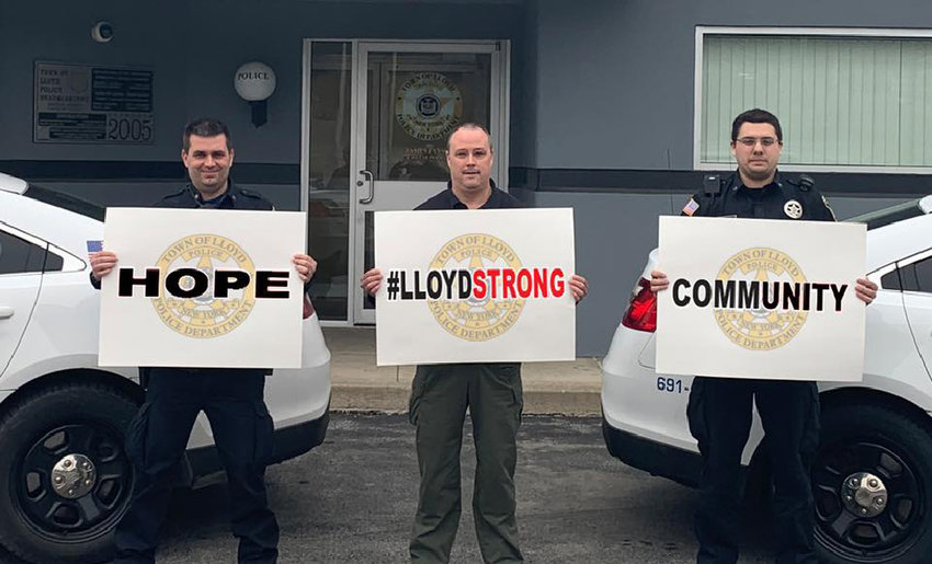 Town of Lloyd Police have a message for their community.