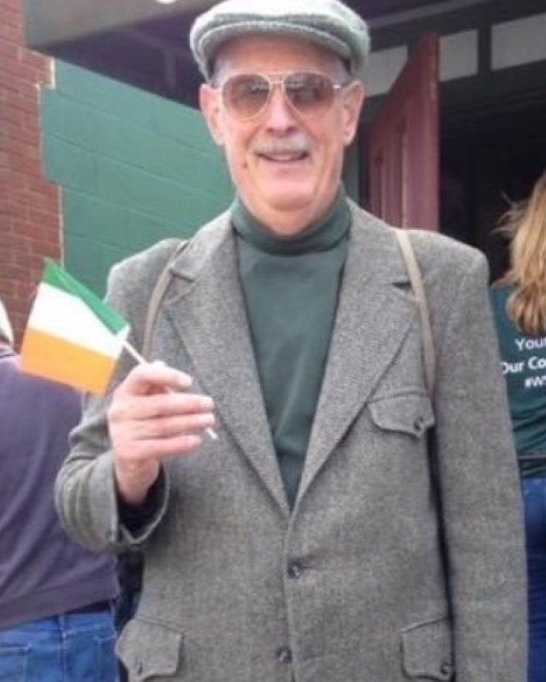 Ed Leonard, shown taking part in the Village of Montgomery's annual St. Pat's Ramble & Parade, was a former Walden trustee and chairman of the Town of Montgomery Democratic committee.