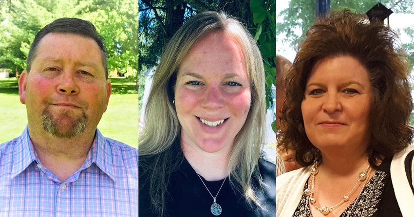 Joseph Bond, Katie McKnight and Sheila Schwartz.