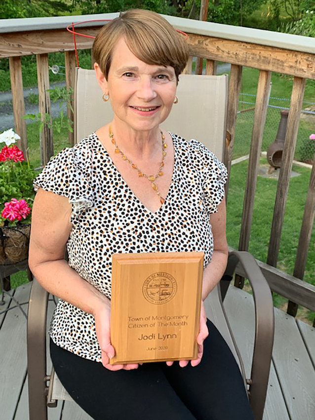 Jodi Lynn was named Town of Montgomery Citizen of the Month for June.