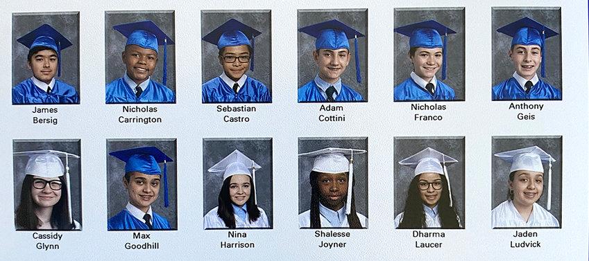 The Bishop Dunn Memorial School Class of 2020.