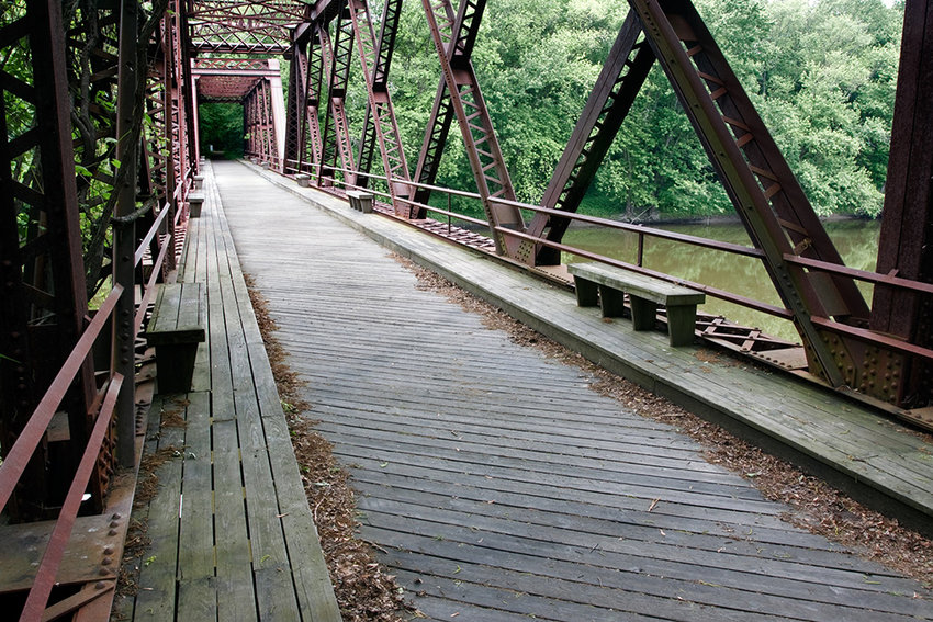 The Wallkill Valley Rail Trail is a 22+ mile trail and linear park that runs along the former Wallkill Valley railroad corridor in Ulster County, through the towns of Gardiner, New Paltz, Rosendale, and Ulster.