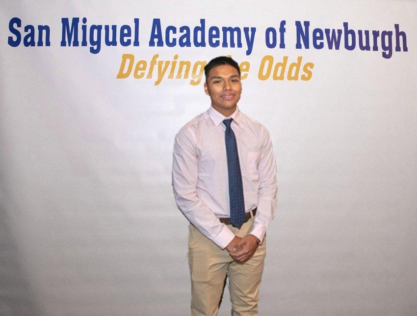 Cory Arias, San Miguel Academy of Newburgh.