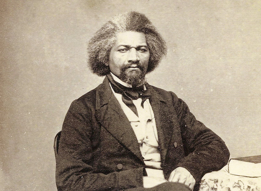 Abolitionist Frederick Douglass visited Newburgh on August 11, 1870.