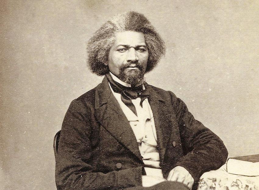 Abolitionist Frederick Douglass visited Newburgh on August 11, 1870.