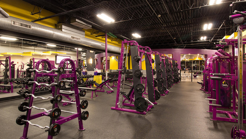Planet Fitness, Newburgh, opened on Monday.