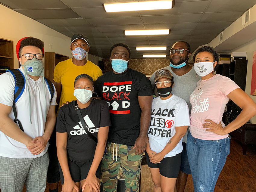 The Black Collective was formed by local business owners back in May of this year.